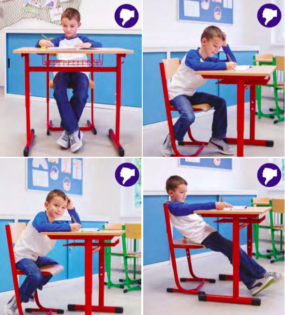 Jak správně sedět nejen ve škole? | Agátin svět