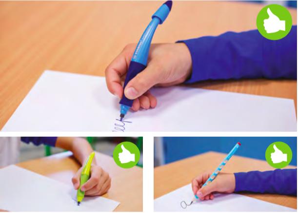 Jak na správný úchop tužky? - Chodím do školy