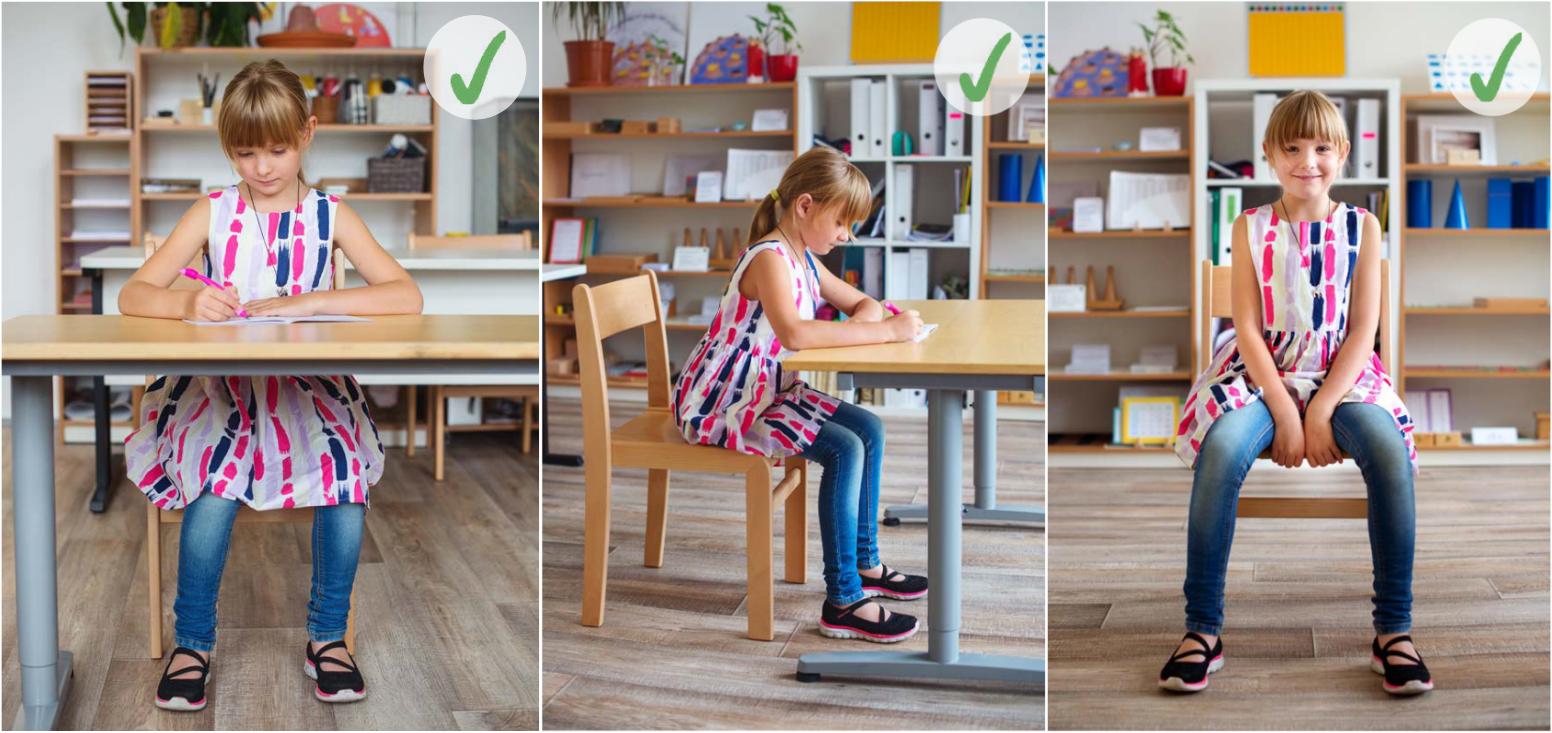 Jak správně sedět nejen ve školní lavici?